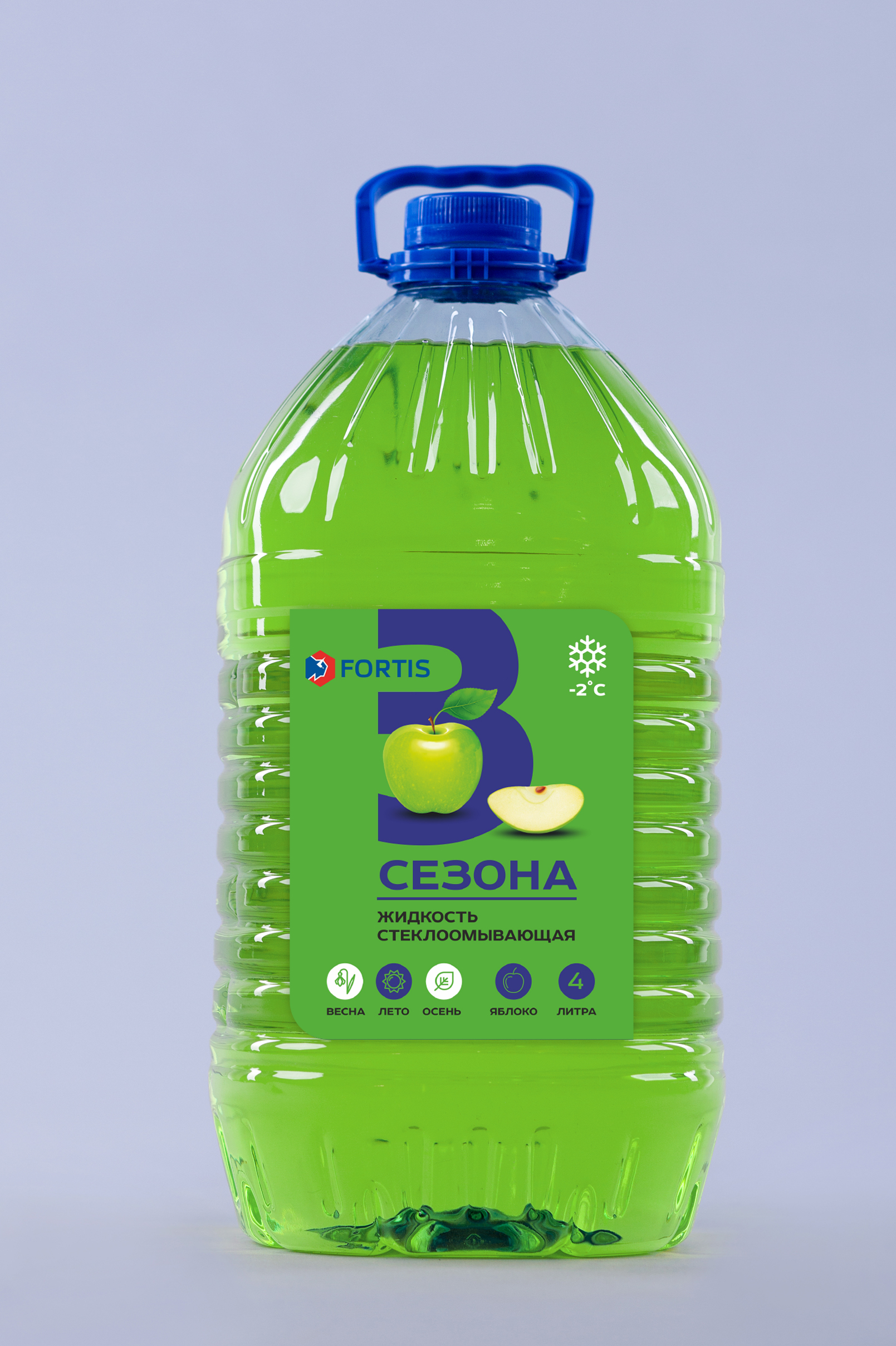 Визуализация жидкость зеленая